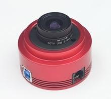 ZWO ASI224MC اللون كاميرا علم الفلك ASI الكواكب الشمسية التصوير القمري/توجيه عالية السرعة USB3.0