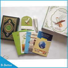 12 unids/lote Santo Digital talking pen 8G Corán reading pen PQ15 Digital Quran Reader Pen Con 25 Traducciones languge DHL/Fedex