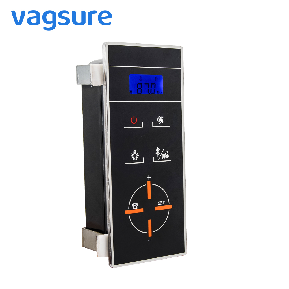 Vagsure 1pcs bluetooth Phone Connection LCD Display Induction Shower Cabin Controller Shower Fm Radio Control Panel AccessoriesVagsure 1pcs bluetooth Phone Connection LCD Display Induction Shower Cabin Controller Shower Fm Radio Control Panel Accessories