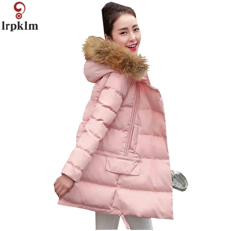 buy woman jacket winter parka pink coats. Black Bedroom Furniture Sets. Home Design Ideas