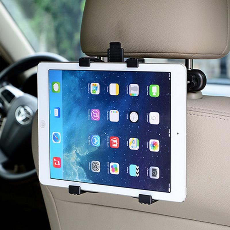 For 7/8/9/10/11 inch 360 Degree Car Back Seat Headrest Mount Bracket Holder Supp