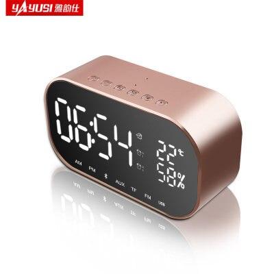 Speaker Led Portable Mini Wireless Player waterproof speaker цена