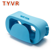VR Box 3D Virtual Reality Goggles Mini VR Glasses Google Cardboard for Android ios Smartphone 4.0-6.0 inch FOV 120 3D Glasses
