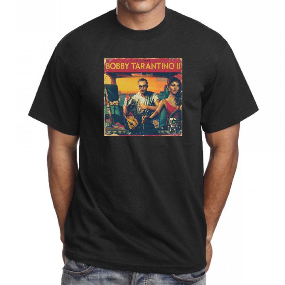 custom-t-shirts-cheap-men's-logic-bobby-font-b-tarantino-b-font-ii-2-t-shirt-hip-hop-rap-merch-ratt-pack-tee-everybody-new-short-graphic-o-nec