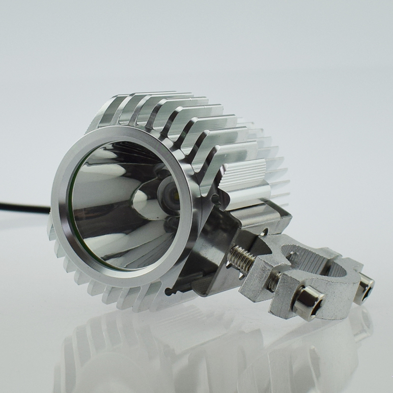 Led Spotlight Headlamp: Motorcycle LED Spotlight Driving Spot Light Waterproof