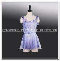 Взрослых танцевальные костюмы бак шифоновые платья Обувь для девочек Балетные Костюмы Одежда Амур роль производительность Платья для женщ