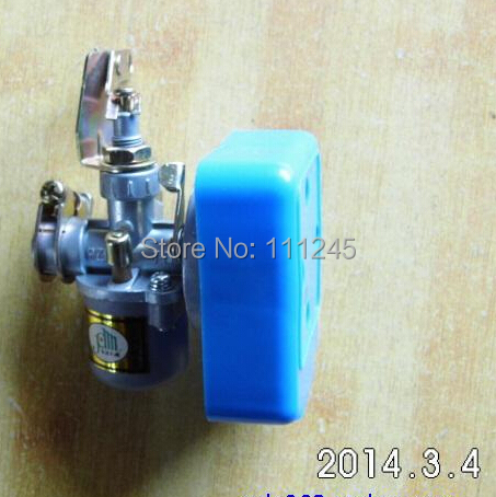 CARBURETOR W/ SQUARE AIR FILTER  PZ11J  FOR CHINESE 1E40F MODEL 18 SPRAYER CARB MISTER CARBURETTOR DUSTER PARTS stator for hs500 hisun500 model carburetor model