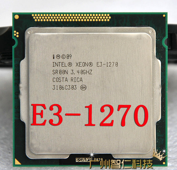 Intel CPU Processor Quad-Core LGA1155 E3 1270 SR00N 8MB title=