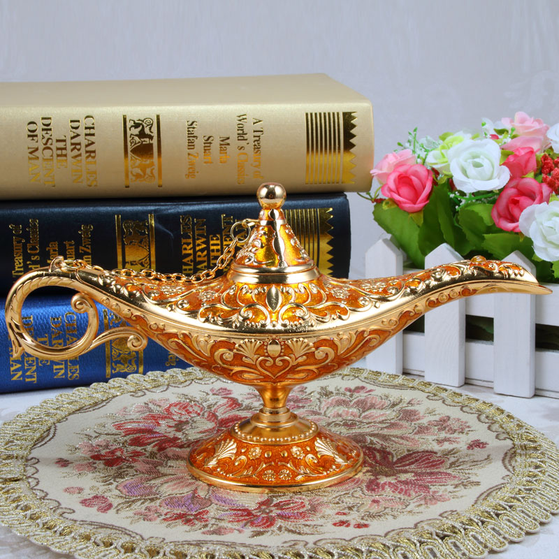 God's Lantern Lamp Vintage Decoration Metal Art Crafts Antique Ornaments Birthday Gift Office Home Collection L3314