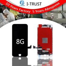 20 cái Hạng AAA chất lượng Đối Với iPhone 8 LCD display screen Replacement Ống Kính Pantalla với Touch Digitizer miễn phí vận chuyển