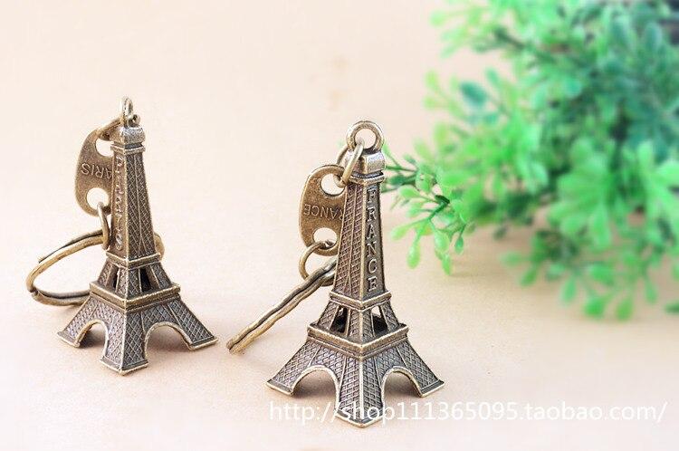 La Tour Eiffel Vintage Pendant Keychains Prison Break Same Style Halloween Christmas New Year Gift Birthday Gift