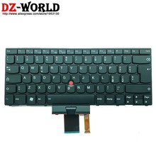 Новая итальянская Ttalian клавиатура с подсветкой Orig IT для Lenovo Thinkpad X1 1293 1294 подсветка Teclado 04W2774 OB35730