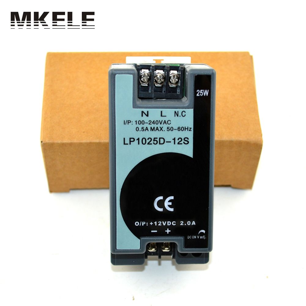 ac to dc mini volume 25w 12v din rail power supply LP-25-12 25W 2.1A din rail smps with low ripple noise psmn003 25w to 247
