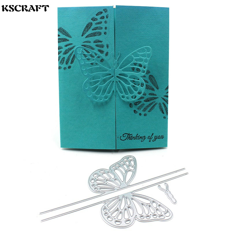 KSCRAFT Butterfly Decorative Embossing