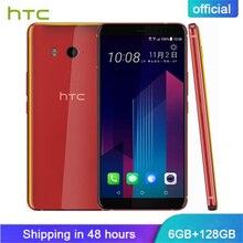 Original HTC U11 Plus 6GB RAM 128GB ROM Semitransparent Smart Phone Snapdragon 835 Octa Core 6.0