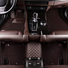 HLFNTF Custom car floor mats For audi A6 A5 A4 A3 A2 R8 Q3 Q5 Q7 S4 A7 A8 car accessories(China)