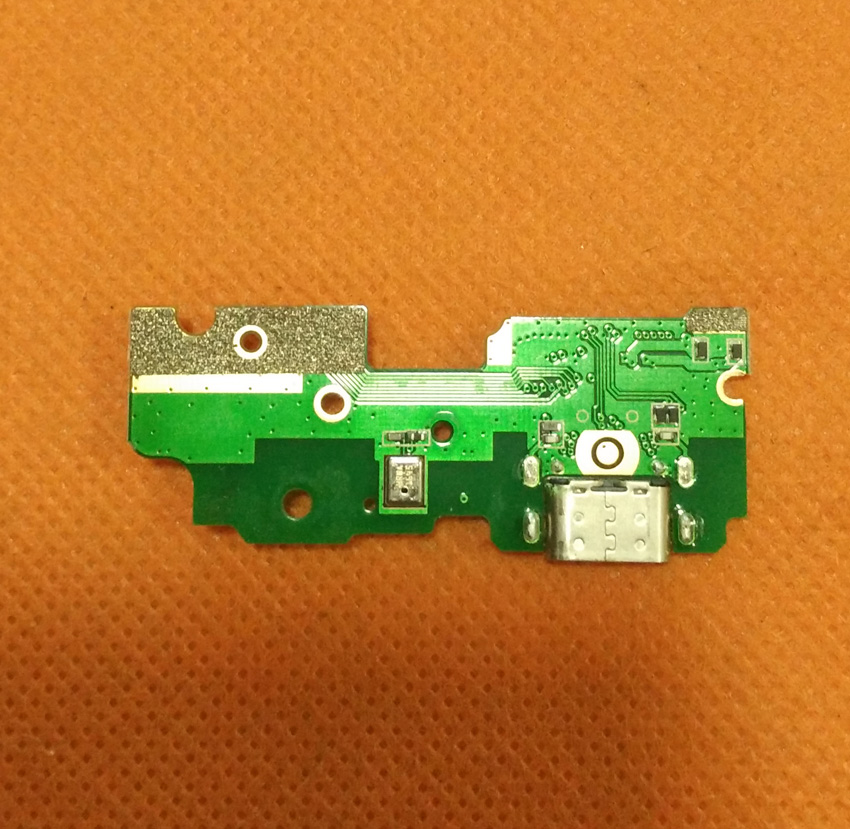 Used Original USB Plug Charge Board+MIc microphone For UMI Z MTK Helio X27 Deca Core 5.5