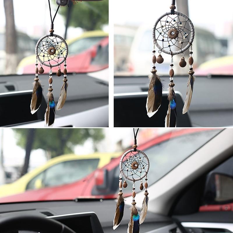 Car Pendant Ornaments Goods Stickers Hanging Handmade Dream Catcher