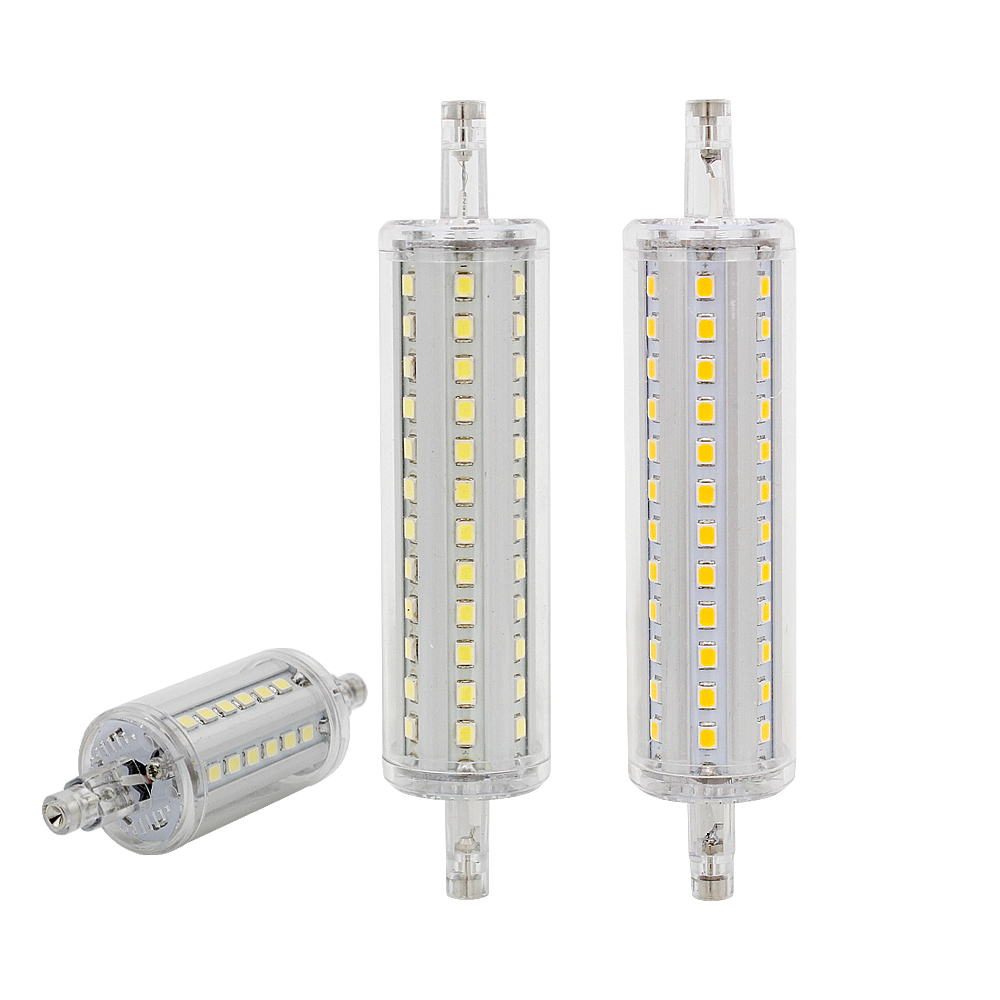 1pcs Ampoule R7S LED Corn Bulb 78mm 118mm 135mm 189mm Dimmable Lamp Replace 10W 30W 50W Halogen Light AC 85-265V Floodlight