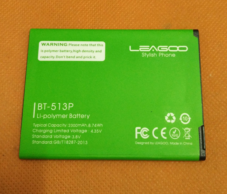 Used original battery Batterie Batterij <font><b>Bateria</b></font> 2200mAh for <font><b>Leagoo</b></font> <font><b>M5</b></font> MT6580A Quad Core image
