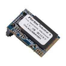 Zheino Новый SATA3 DOM 64 ГБ SSD промышленные диск на модуле SATAIII 6 ГБ/сек. 7 пальцы горизонтальные (угловой) обратный 270 градусов MLC DOM