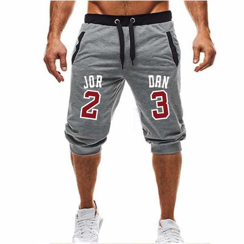 2019 brand new Bermuda masculina APENAS QUEBRÁ-LO impressão moda casual calças de jogging esportes fitness homens hip hop