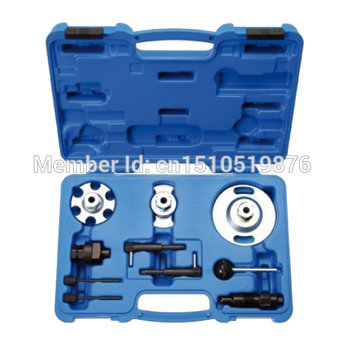 Engine Timing Crankshaft Alignment Locking Tool Set For Audi VAG 2.7 3.0 Series AT2032  high quality diesel engine timing locking tool for vag 2 7