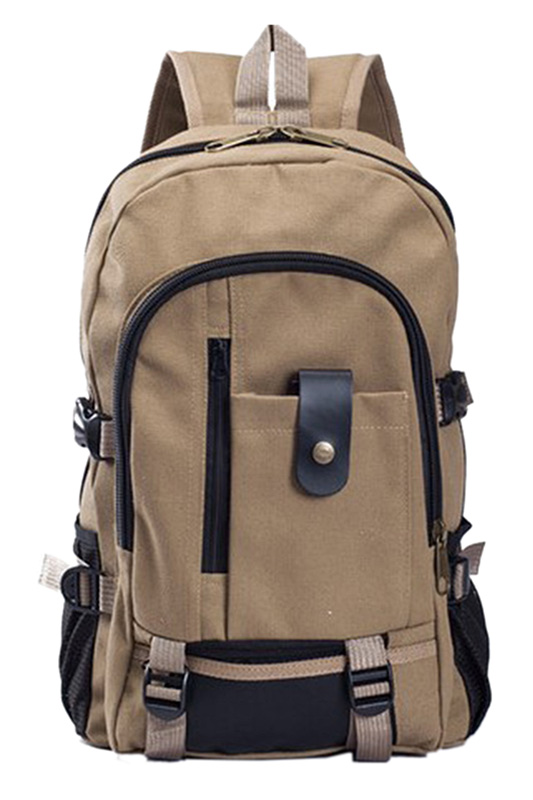 Mens Military Vintage Canvas Rucksack Backpack Bag DeepMens Military Vintage Canvas Rucksack Backpack Bag Deep
