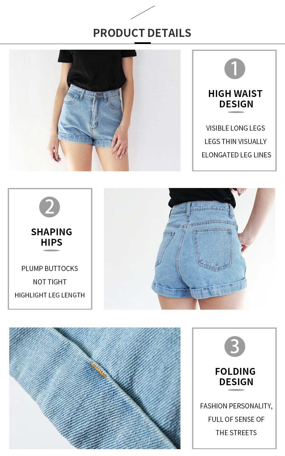 HTB1sSqqiVooBKNjSZPhq6A2CXXaM - GOPLUS High Waist Denim Shorts for Women Vintage Sexy Brand Shorts Jeans Women Denim Shorts Feminino Slim Hip Plus Size C3627