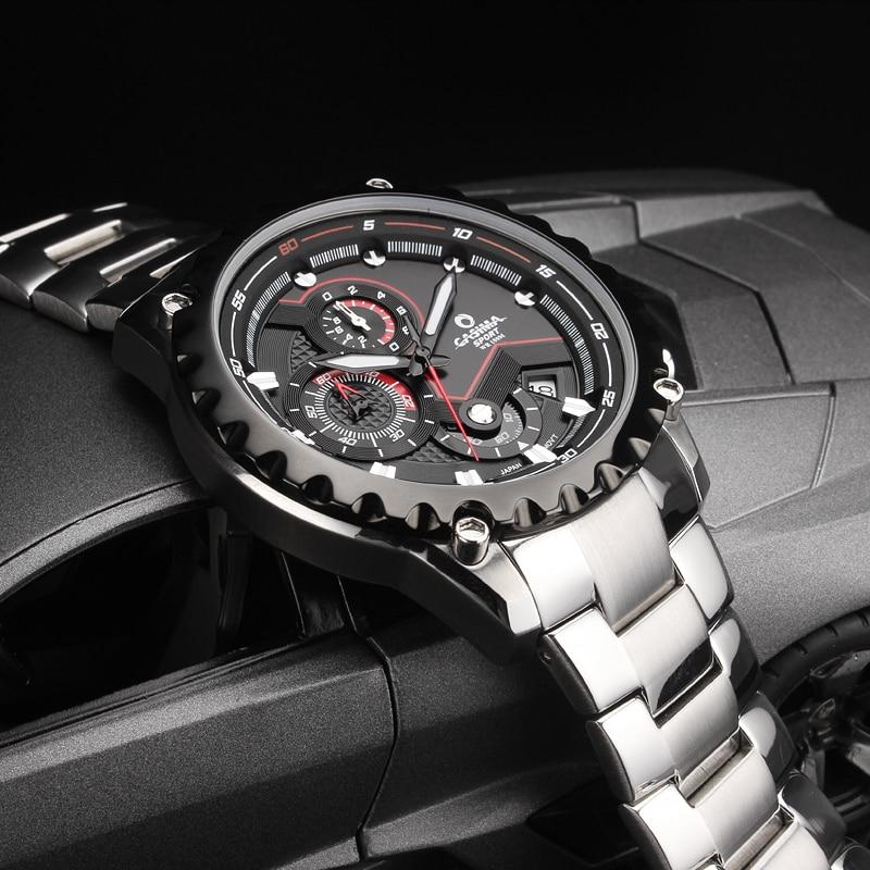 Marca de lujo Sport Men Relojes Moda Charm Mens Movimiento de cuarzo - Relojes para hombres - foto 4