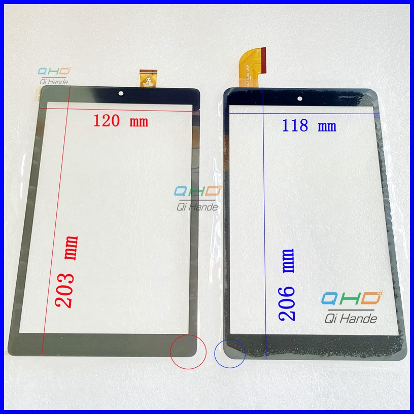 High Quality New For 8'' inch Teclast P80h P88T tablet pc Touch Screen Digitizer Sensor Replacement Parts Free Shipping