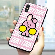 Lovely Hot Soft TPU Case for iPhone 6S Plus Slim Phone Cover for iPhone 7 8 plus X Xs Max XR 5 5s se 6 Cases Skin цена и фото