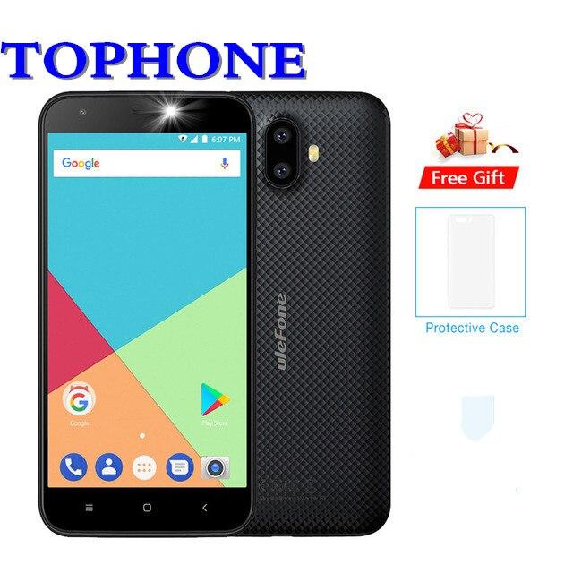 2018 новый оригинальный Ulefone S7 смартфон WCDMA MTK6580 4 ядра 5,0 HD cellphone13MP двойная задняя Cam gps мобильный телефон Android 7,0