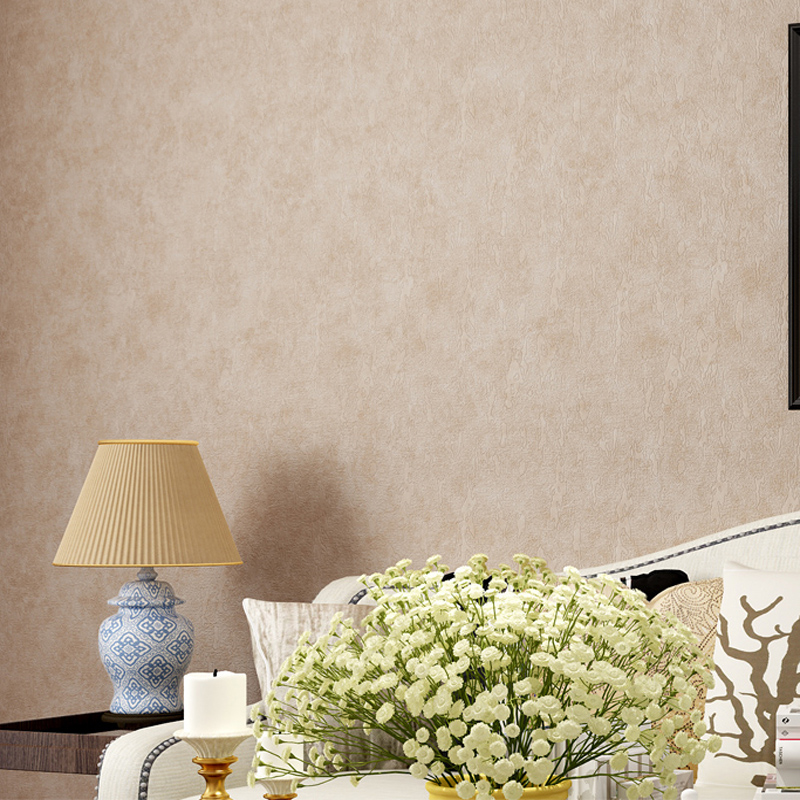 Modern Solid Simple Wallpaper Home Decorative Waterproof PVC Wallpapers Mural Papel de Parede 5 Colors LY036