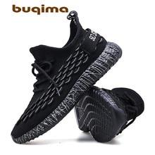Buqima new mesh mens casual shoes comfortable light breathable walking sports