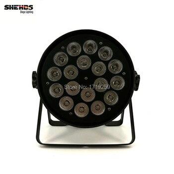 2 шт./лот LED Par Can 18x18 W RGBWA + УФ DMX Этапе Бизнес-Свет высокой Мощности Света для Партии KTV Disco DJ SHENHE Этап освещение