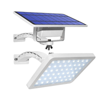 New Arrival 48LEDs Solar Power Waterproof Street Light Super Bright Solar Flood Light Outdoor Security Lamp for Garden Yard