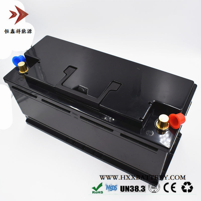 HXX 12V 100AH LiFePo4 Battery Pack ABS Case Portable BMS Built 500A Deep Cycle Auto Starter Power Yacht Wholesale Golf Cart free customs taxes super power 1000w 48v li ion battery pack with 30a bms 48v 15ah lithium battery pack for panasonic cell