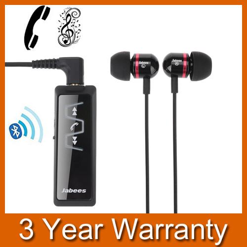 2 in1 Clip-on Bluetooth 3.0 Manos Libres Estéreo de Auriculares Auriculares Auriculares Auricular/Estéreo Adaptador del Receptor de Audio Streaming de Música