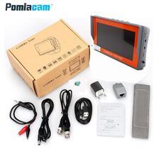 Iv7a 4.3 polegada cctv 1080 p ahd cctv câmera tester RS 485 ptz contorl utp cabo de rede teste 1080 p ahd câmera monitor de testes