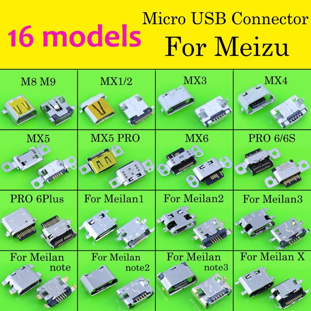 Phone-Charging-Port Mini-Usb-Connector Meizu for M8 M9 Mx4/mx5-Pro 16-Models Jack-Socket