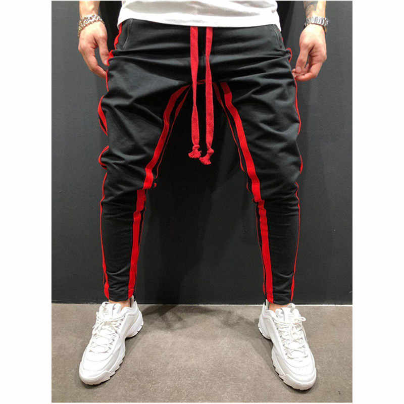 Pantolon erkekler bahar yaz düz pantolon % 100% pamuk erkekler onları giymek rahat sıcak pantolon erkek rahat koşu Hip hop pantolon