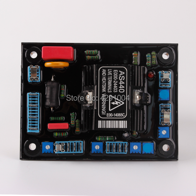 stamford avr AS440-A for generator spare parts match stamford avr as440 a red as440 for generator