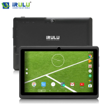 Best price Orignal iRULU 7″ Tablet PC X3  Android 6.0 Tablet Quad Core Dual Cam 1GB RAM 8GB ROM 1024*600 TFT LCD Screen 3.7V 2800mAh
