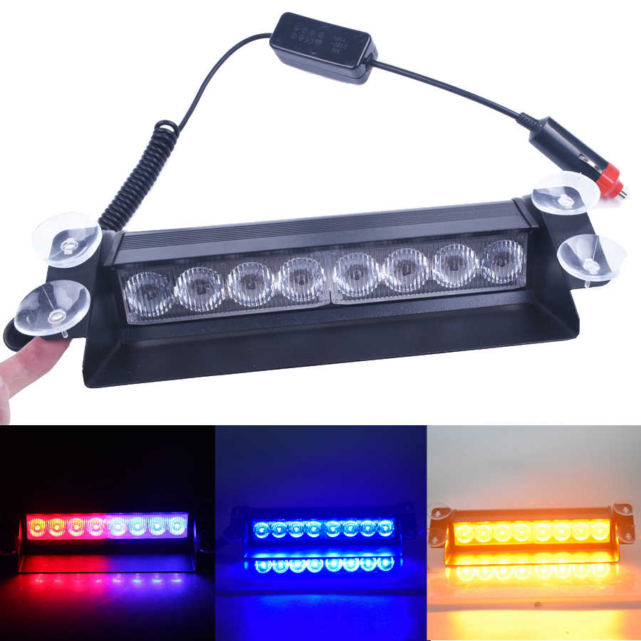 Detail Feedback Questions about 4/8 LED Red/Blue Yellow Blue Car