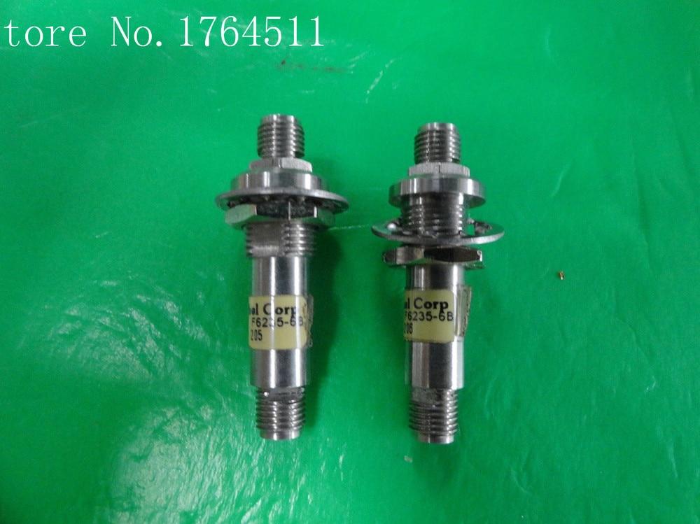 [BELLA] WEINSCHEL F6235-6dB DC-40GHz 6dB 2W RF Coaxial Fixed Attenuator SMA