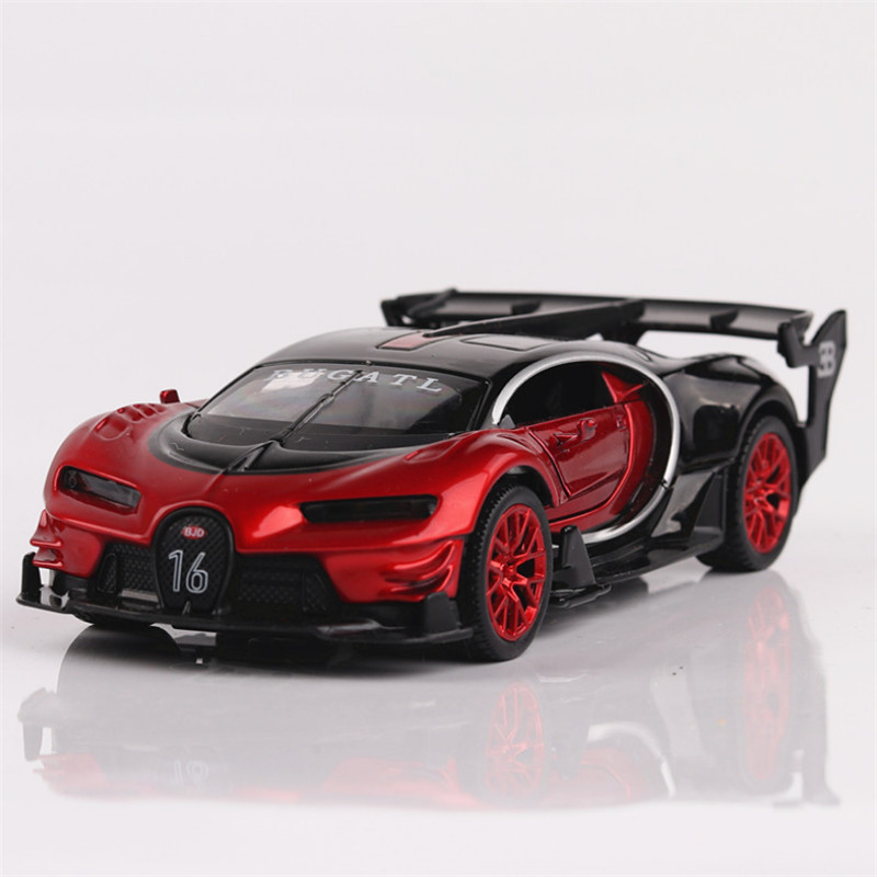 1:32 Toy Car Bugatti GT Metal Toy Toy Alloy Car Diecasts & Toy Fordon - Bilar och fordon - Foto 2