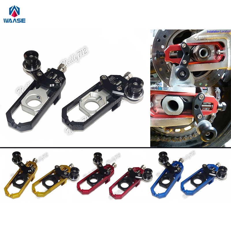 Motorcycle Chain Adjusters with Spool Tensioners Catena For APRILIA RSV4 R RSV4R 1000 Factory APRC 2009 2010 2011 2012 2013 2014 motorcycle cnc chain adjusters tensioners with spool fit for aprilia rsv4 2010 2014 2010 2011 2012 2013 2014 10 11 12 13 14