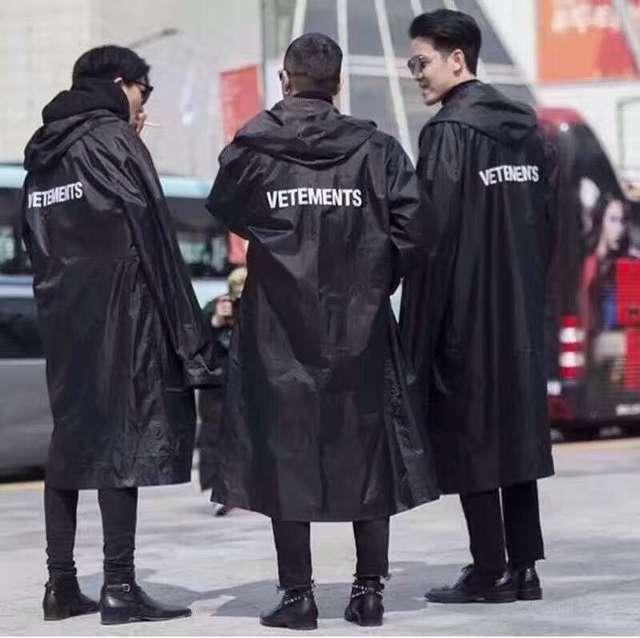Jesus is king kanye west Vetements waterproof raincoat jacket  1