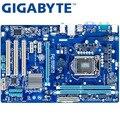 Материнская плата GIGABYTE для настольных ПК с процессором H61  сокетом LGA 1155  i3  i5  i7  DDR3 16 ГБ  ATX  оригинал  б/у